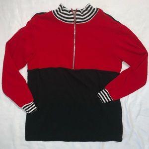 Vintage | Thermal Quarter Zip Sweater
